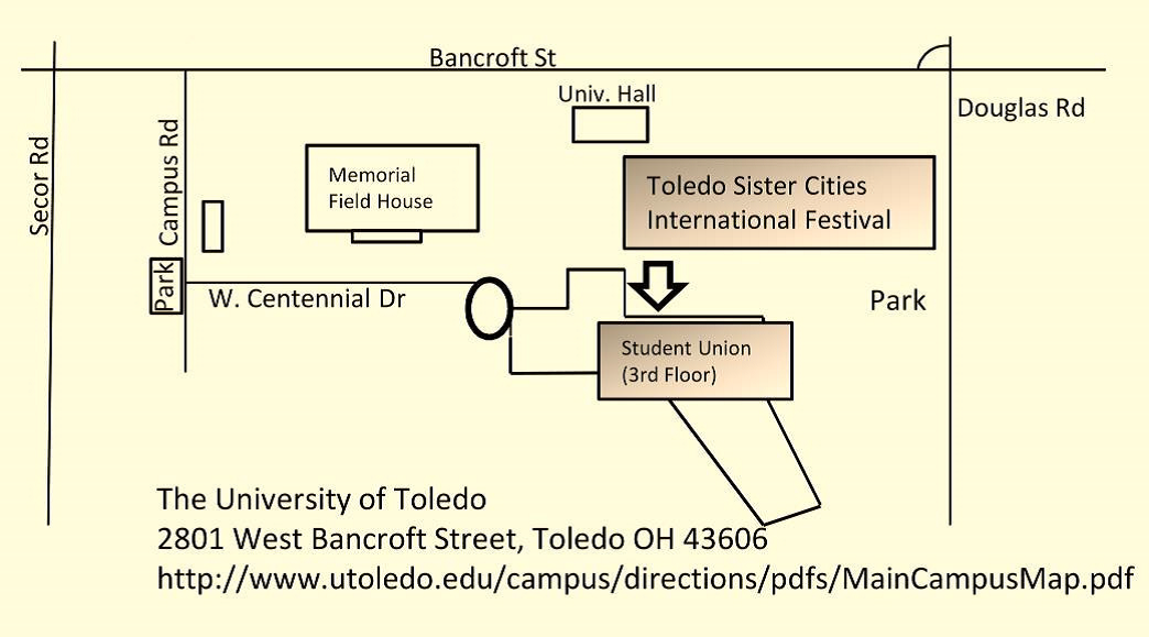 Location of Festival